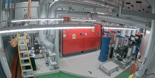 Copley Estate boiler room finished